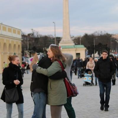 Free Hugs Vienna 21 December 2014  211