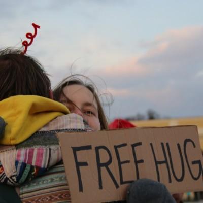 Free Hugs Vienna 21 December 2014  212