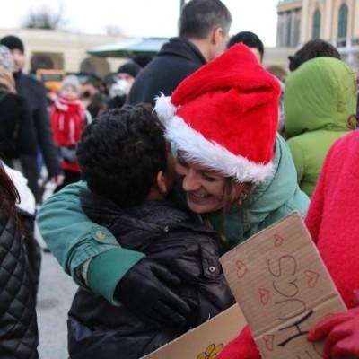Free Hugs Vienna 21 December 2014  221