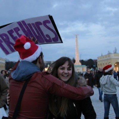 Free Hugs Vienna 21 December 2014  239