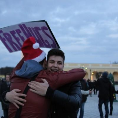 Free Hugs Vienna 21 December 2014  240