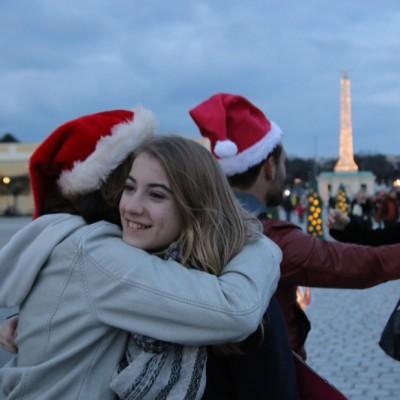 Free Hugs Vienna 21 December 2014  256
