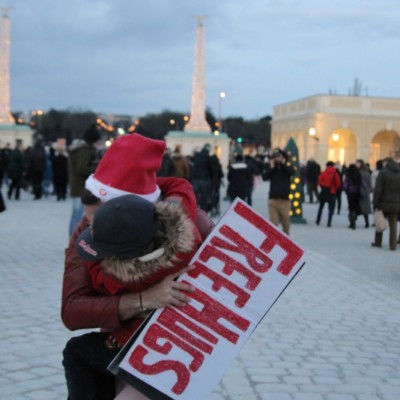 Free Hugs Vienna 21 December 2014  266