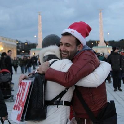 Free Hugs Vienna 21 December 2014  268