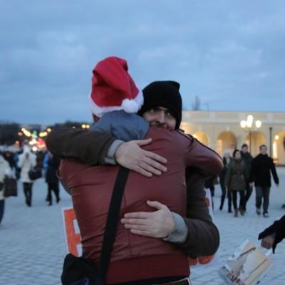 Free Hugs Vienna 21 December 2014  278