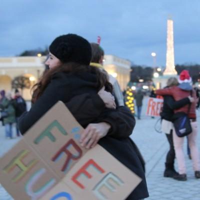 Free Hugs Vienna 21 December 2014  282