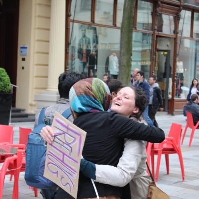 Free Hugs Vienna @ Global Free Hugs Day 02 May 2015 006