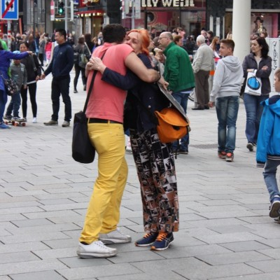 Free Hugs Vienna @ Global Free Hugs Day 02 May 2015 013