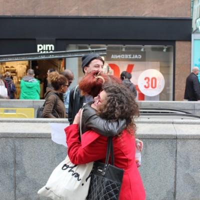 Free Hugs Vienna @ Global Free Hugs Day 02 May 2015 017
