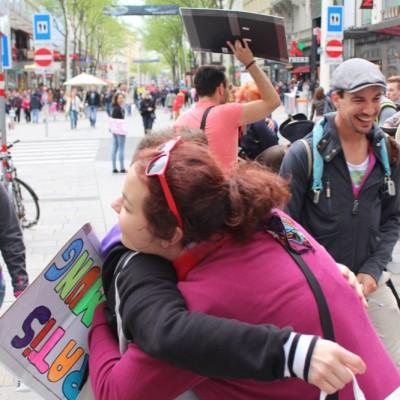 Free Hugs Vienna @ Global Free Hugs Day 02 May 2015 022