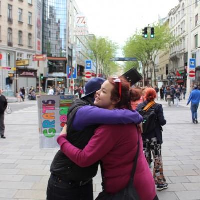 Free Hugs Vienna @ Global Free Hugs Day 02 May 2015 023