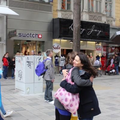 Free Hugs Vienna @ Global Free Hugs Day 02 May 2015 025