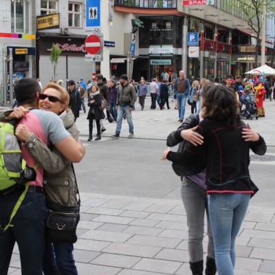 Free Hugs Vienna @ Global Free Hugs Day 02 May 2015 026