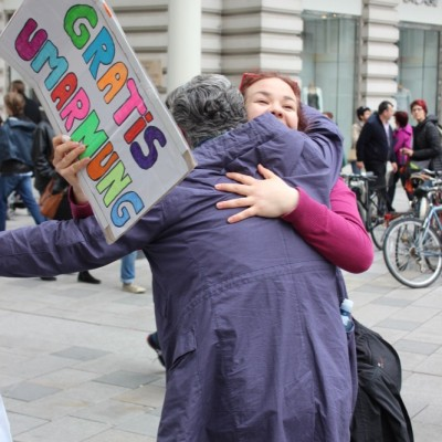 Free Hugs Vienna @ Global Free Hugs Day 02 May 2015 027