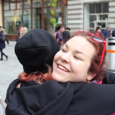 Free Hugs Vienna @ Global Free Hugs Day 02 May 2015 028