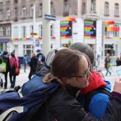 Free Hugs Vienna @ Global Free Hugs Day 02 May 2015 031
