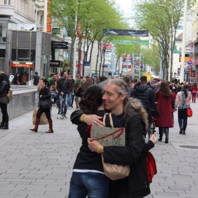 Free Hugs Vienna @ Global Free Hugs Day 02 May 2015 032