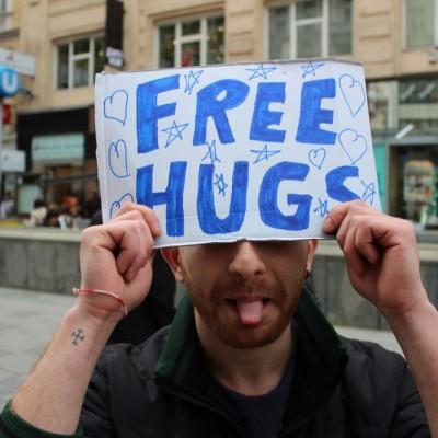 Free Hugs Vienna @ Global Free Hugs Day 02 May 2015 036