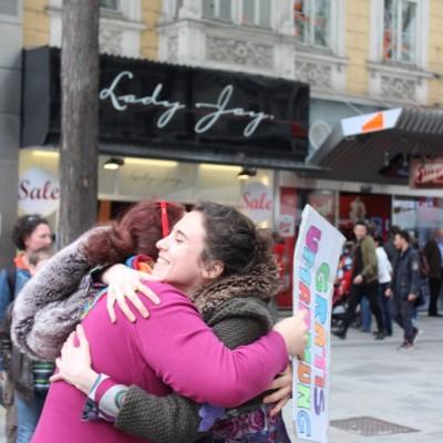 Free Hugs Vienna @ Global Free Hugs Day 02 May 2015 042
