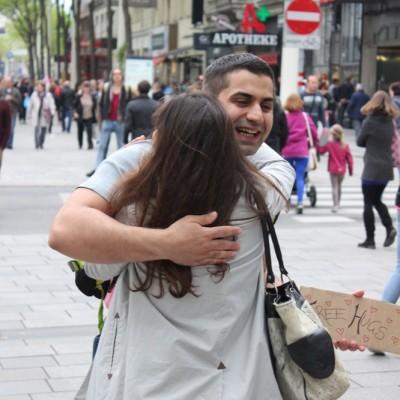 Free Hugs Vienna @ Global Free Hugs Day 02 May 2015 044