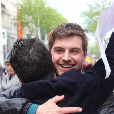 Free Hugs Vienna @ Global Free Hugs Day 02 May 2015 045