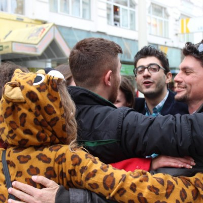 Free Hugs Vienna @ Global Free Hugs Day 02 May 2015 048