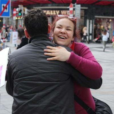 Free Hugs Vienna @ Global Free Hugs Day 02 May 2015 050