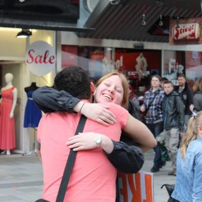Free Hugs Vienna @ Global Free Hugs Day 02 May 2015 052