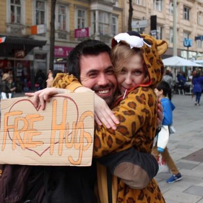 Free Hugs Vienna @ Global Free Hugs Day 02 May 2015 058