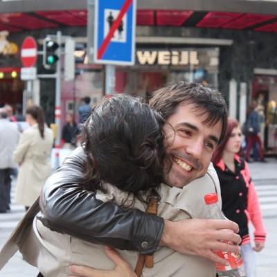 Free Hugs Vienna @ Global Free Hugs Day 02 May 2015 062