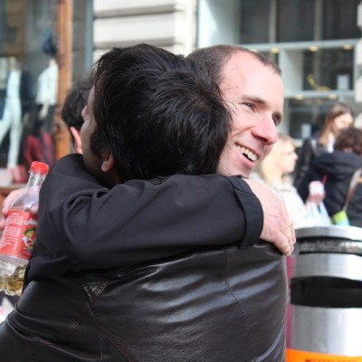 Free Hugs Vienna @ Global Free Hugs Day 02 May 2015 063