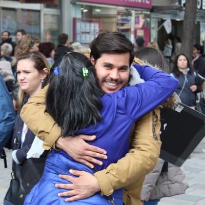 Free Hugs Vienna @ Global Free Hugs Day 02 May 2015 065