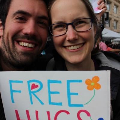Free Hugs Vienna @ Global Free Hugs Day 02 May 2015 071