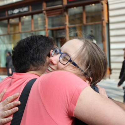 Free Hugs Vienna @ Global Free Hugs Day 02 May 2015 073