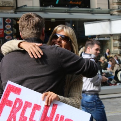Free Hugs Vienna @ Global Free Hugs Day 02 May 2015 081