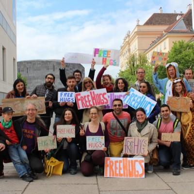 Free Hugs Vienna @ Global Free Hugs Day 02 May 2015 087
