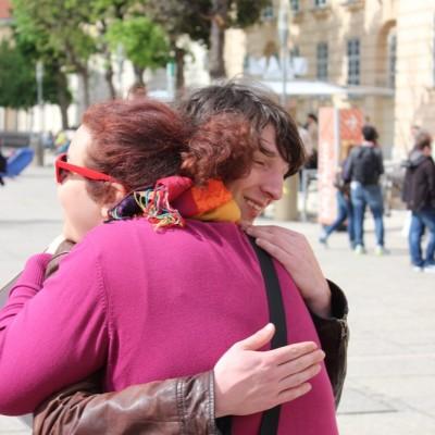Free Hugs Vienna @ Global Free Hugs Day 02 May 2015 091