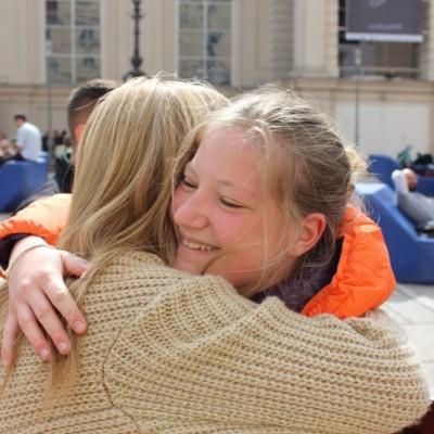 Free Hugs Vienna @ Global Free Hugs Day 02 May 2015 092