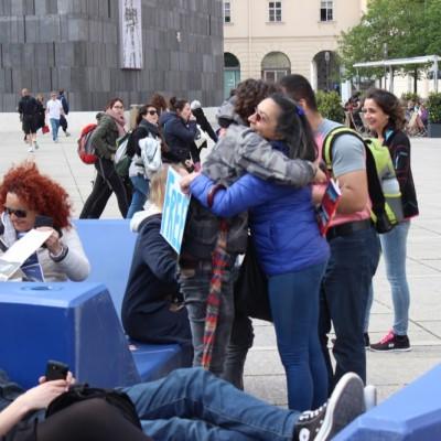 Free Hugs Vienna @ Global Free Hugs Day 02 May 2015 098