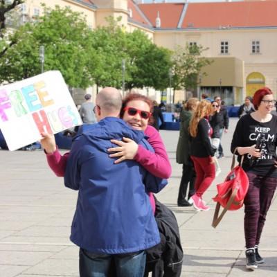 Free Hugs Vienna @ Global Free Hugs Day 02 May 2015 101
