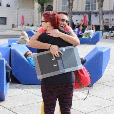Free Hugs Vienna @ Global Free Hugs Day 02 May 2015 102
