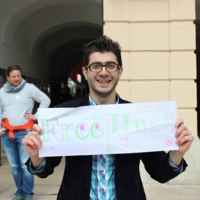 Free Hugs Vienna @ Global Free Hugs Day 02 May 2015 110