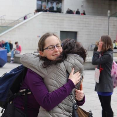 Free Hugs Vienna @ Global Free Hugs Day 02 May 2015 111