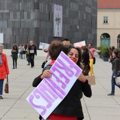 Free Hugs Vienna @ Global Free Hugs Day 02 May 2015 112