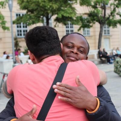 Free Hugs Vienna @ Global Free Hugs Day 02 May 2015 116