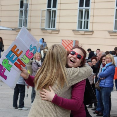 Free Hugs Vienna @ Global Free Hugs Day 02 May 2015 117