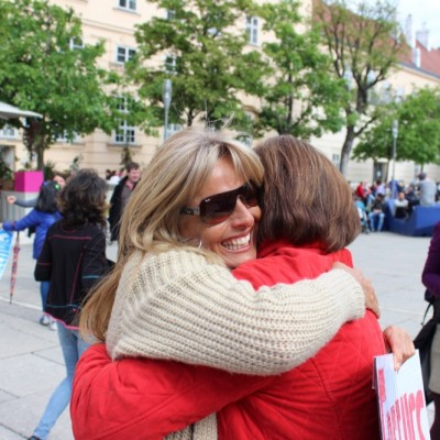 Free Hugs Vienna @ Global Free Hugs Day 02 May 2015 122
