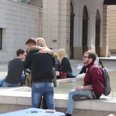 Free Hugs Vienna @ Global Free Hugs Day 02 May 2015 125