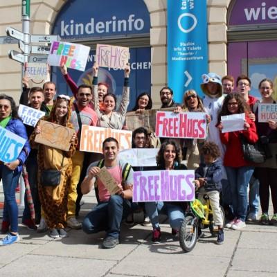 Free Hugs Vienna @ Global Free Hugs Day 02 May 2015 130