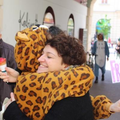 Free Hugs Vienna @ Global Free Hugs Day 02 May 2015 134